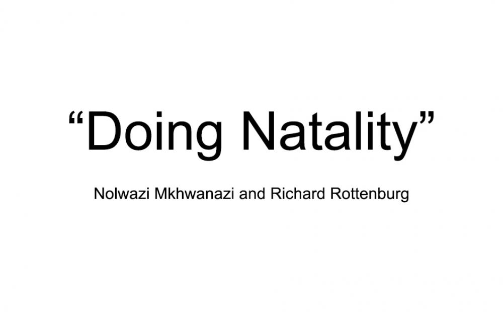 Doing Natality: Making babies, making kin